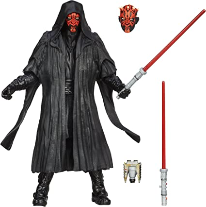 "Box 6/"" Star wars the Black Series Boba Fett Darth Maul Darth Vader Action Figure"