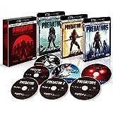 プレデター 4K ULTRA HD トリロジーBOX (7枚組)[4K ULTRA HD + 3D + Blu-ray]