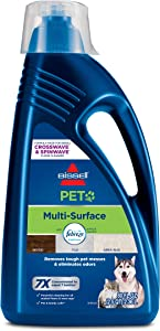 Bissell, 2295L Multi-Surface Pet Formula with Febreze Feshness for Crosswave and Spinwave (80 oz)