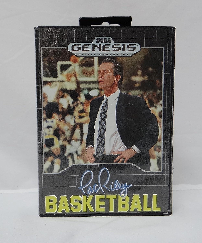 Pat Riley Basketball - Sega Genesis