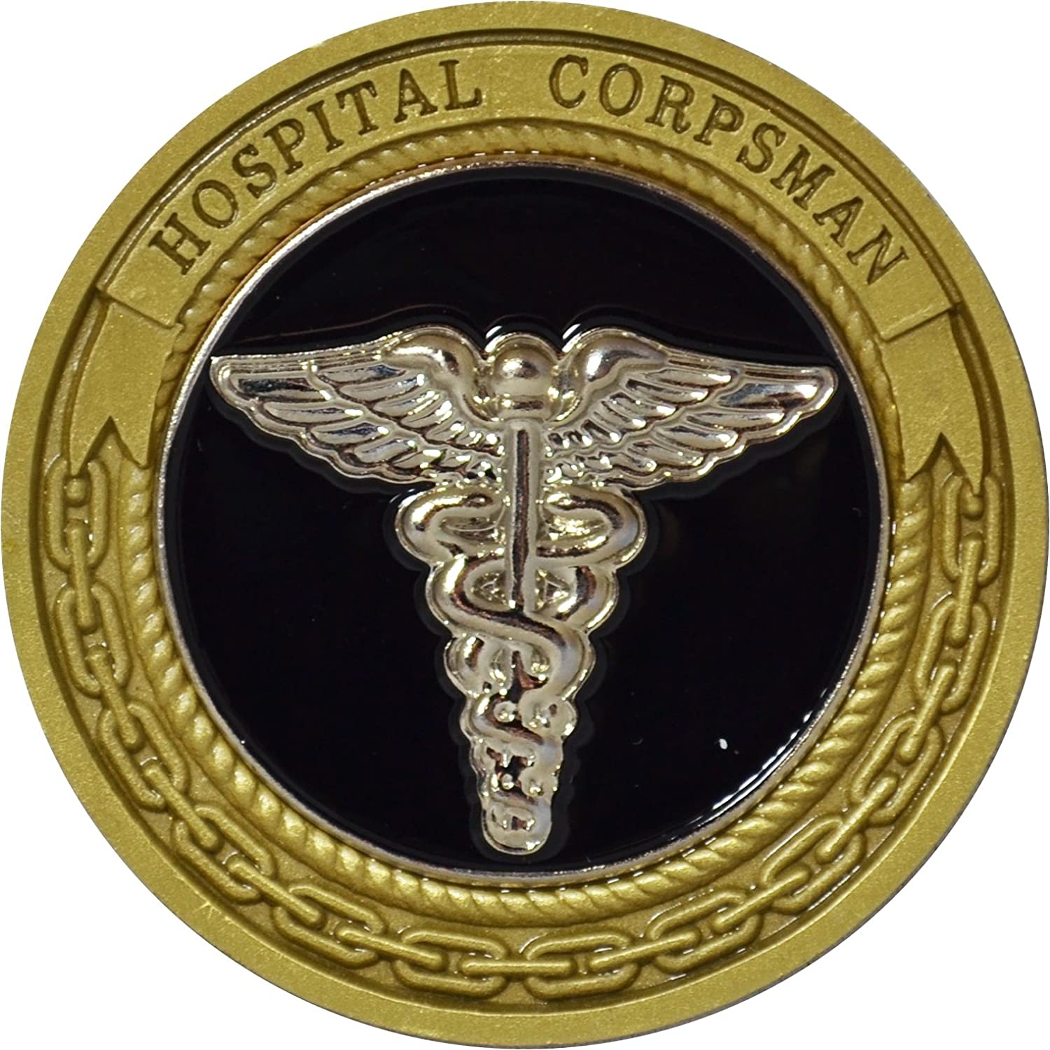 Amazon navy hospital corpsman challenge coin by military amazon navy hospital corpsman challenge coin by military productions toys games biocorpaavc Gallery