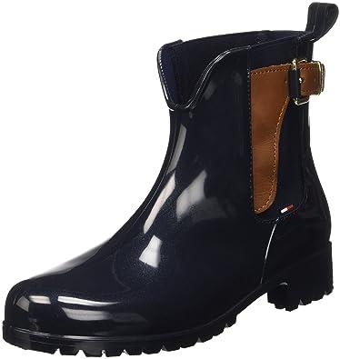 Tommy Hilfiger O1285Xley 2Z2, Bottines Hautes Femme, (Black (990), 37 EU