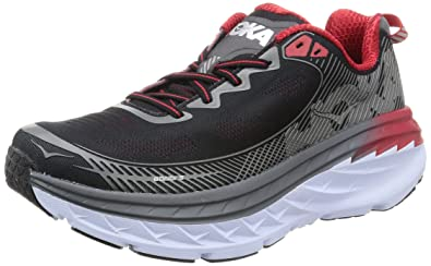 Hoka One One Mens Bondi 5 Running Shoe, Grey - 7 D(M)
