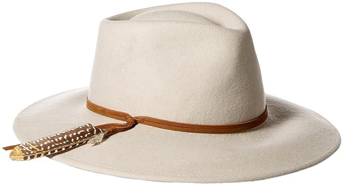 f715ab4c8 'ale by alessandra Women's Leumaria Felt Fedora Hat With Leather Trim