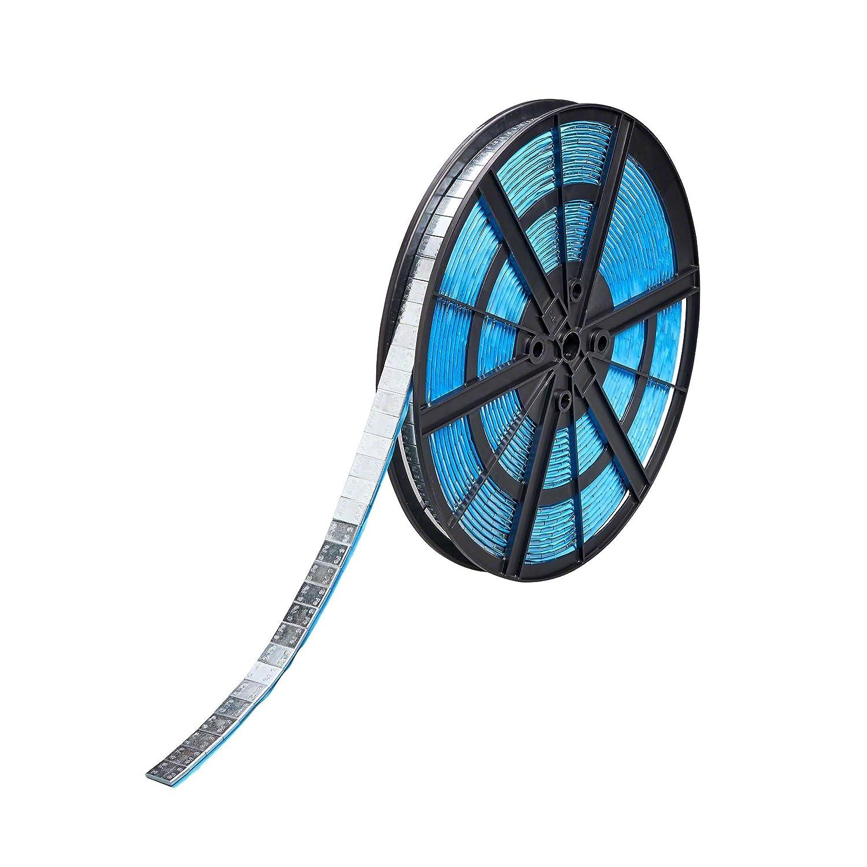 Pesi adesivi equilibratura ruote Contrappesi ruote adesivi Rotolo Pesi adesivi equilibratura 1.000x5g Tipo397UR