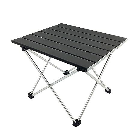 amazon com silfrae ultra light folding camping table picnic table