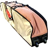 Surfboard Bag With Wheels - Hemp Travel Bag, Fits 3-4 Boards, Travel In Style & Protect Your Quiver. International Surfers Choice Award, Better Boardbags, Designed By California Surfers