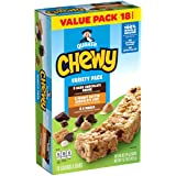 Quaker Chewy Granola Bars, Variety Pack, 18 Count