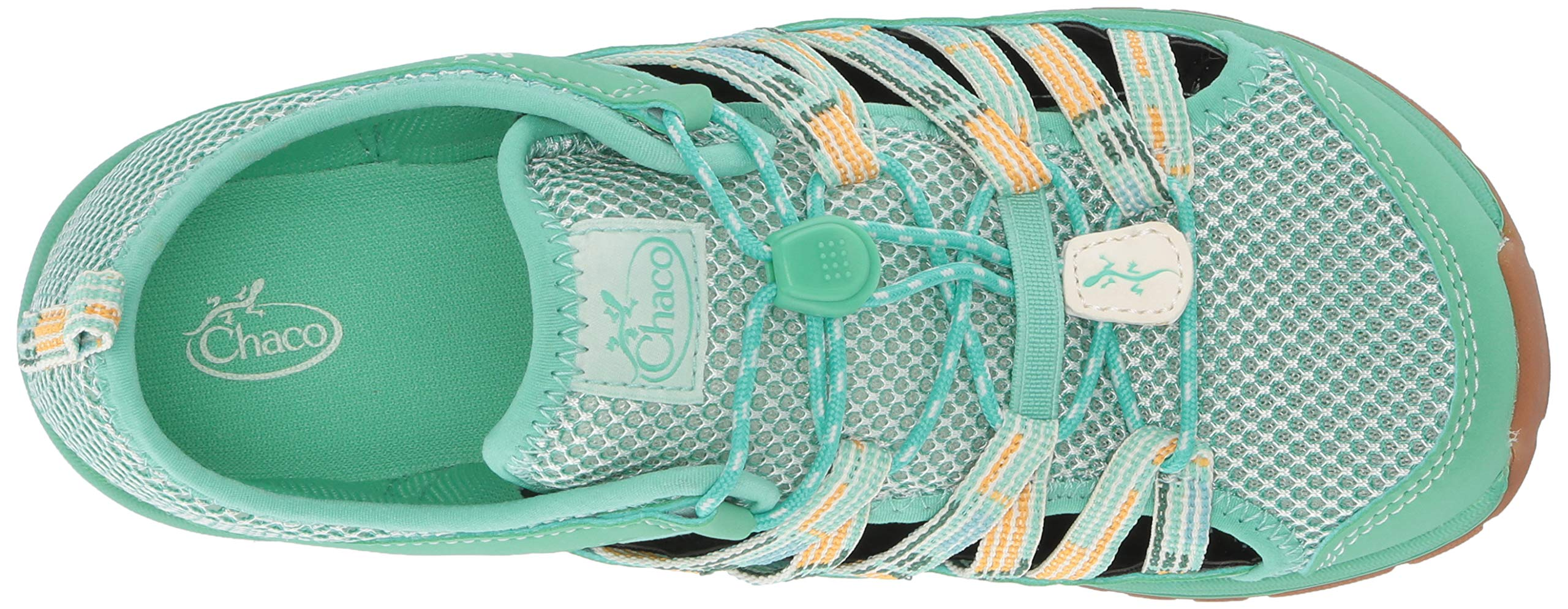 Chaco Unisex Outcross 2 Hiking Shoe teal 04.0 M US Big Kid by Chaco (Image #8)