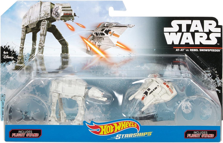 AT-AT Vs Rebel Snowspeeder Hot Wheels Star Wars Die Cast
