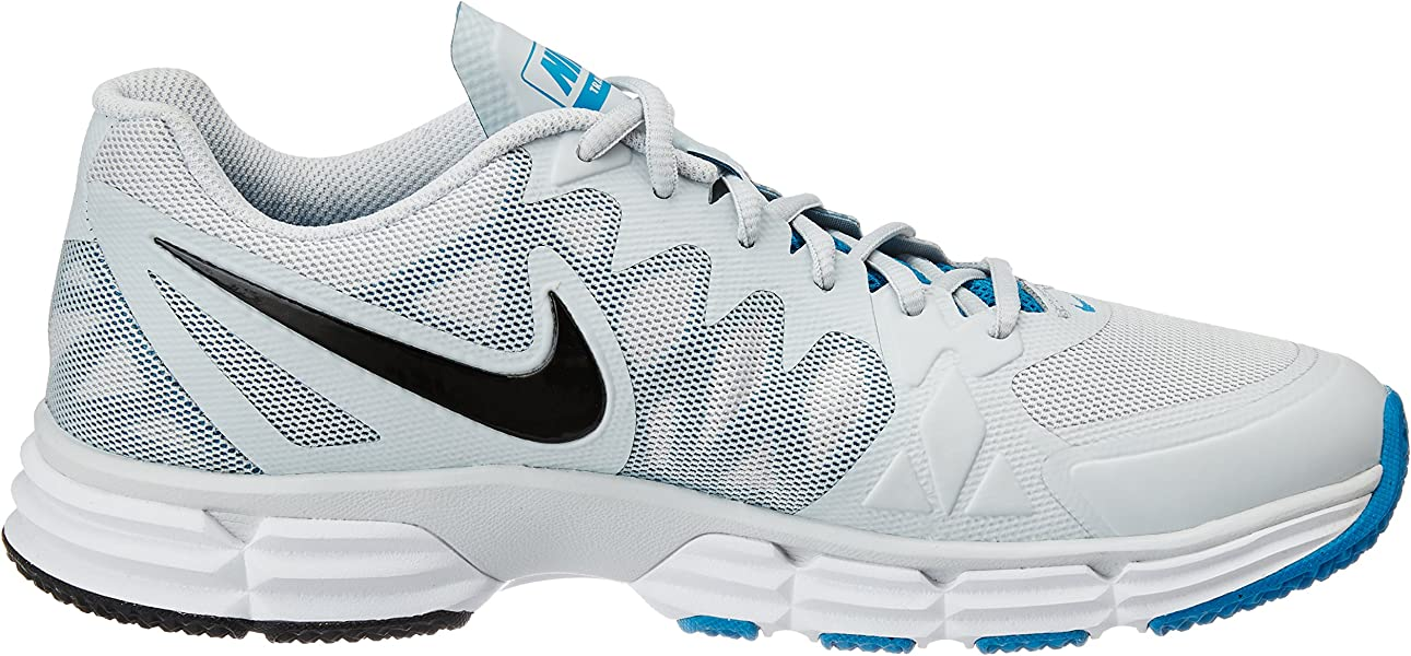 1f2eae7db662 NIKE New Men s Dual Fusion TR 6 Cross Trainer Platinum Lt Blue 9. Back.  Double-tap to zoom
