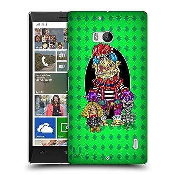 Head Case Designs Payaso Ruck Lado Funda para móviles Nokia ...
