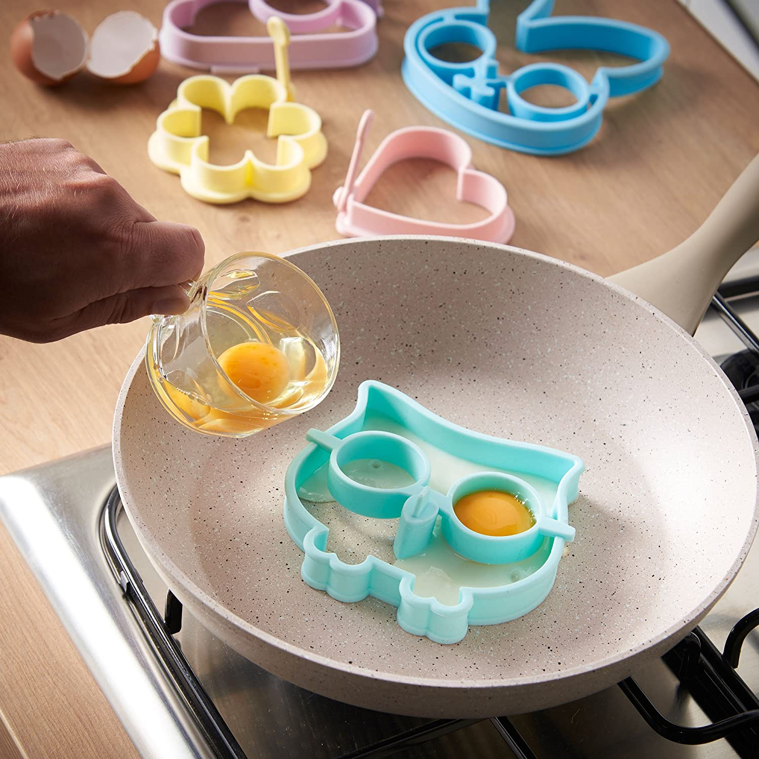 Silicone Fried Egg Shaper