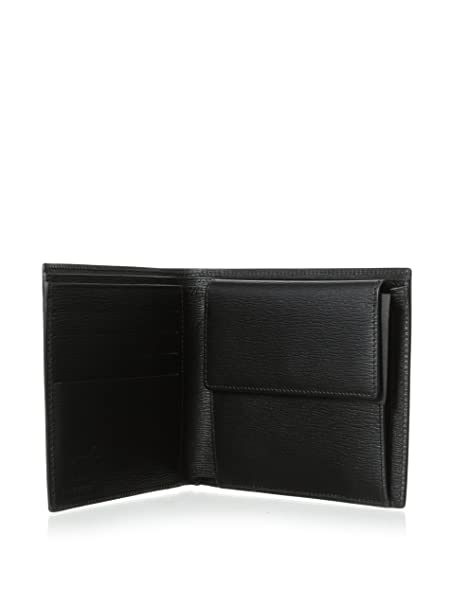 Amazon.com: Mont Blanc negro Westside Wallet (8373): Clothing