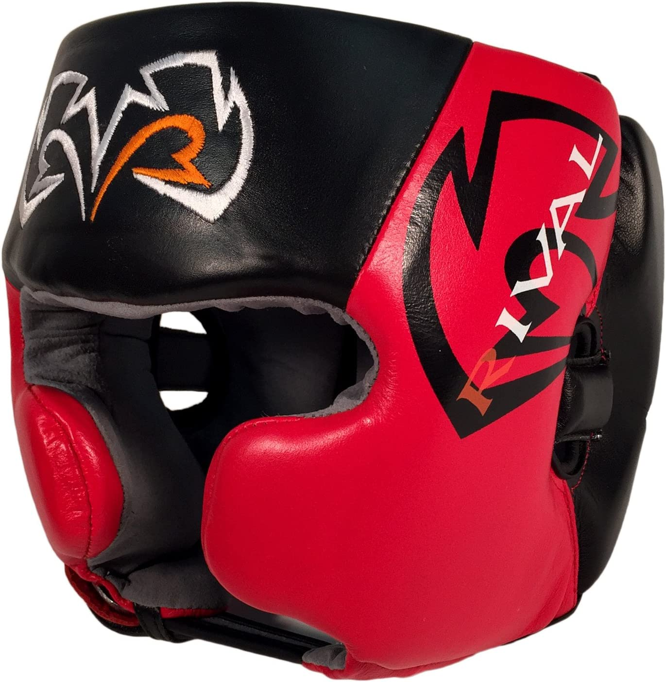 Rival Boxing headgear-rhg20 ブラック&レッド XLarge