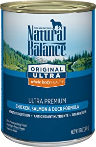 Natural Balance Original Ultra Whole Body Health Wet Dog Food, 13 Ounce (Pack of 12)