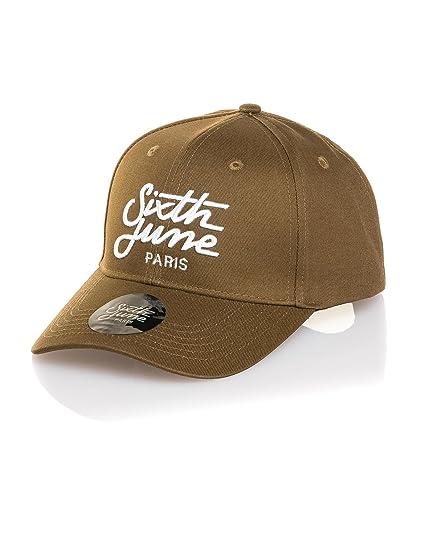 prix fou une performance supérieure la vente de chaussures Sixth June - Casquette Homme Fashion Kaki Logo - Couleur ...