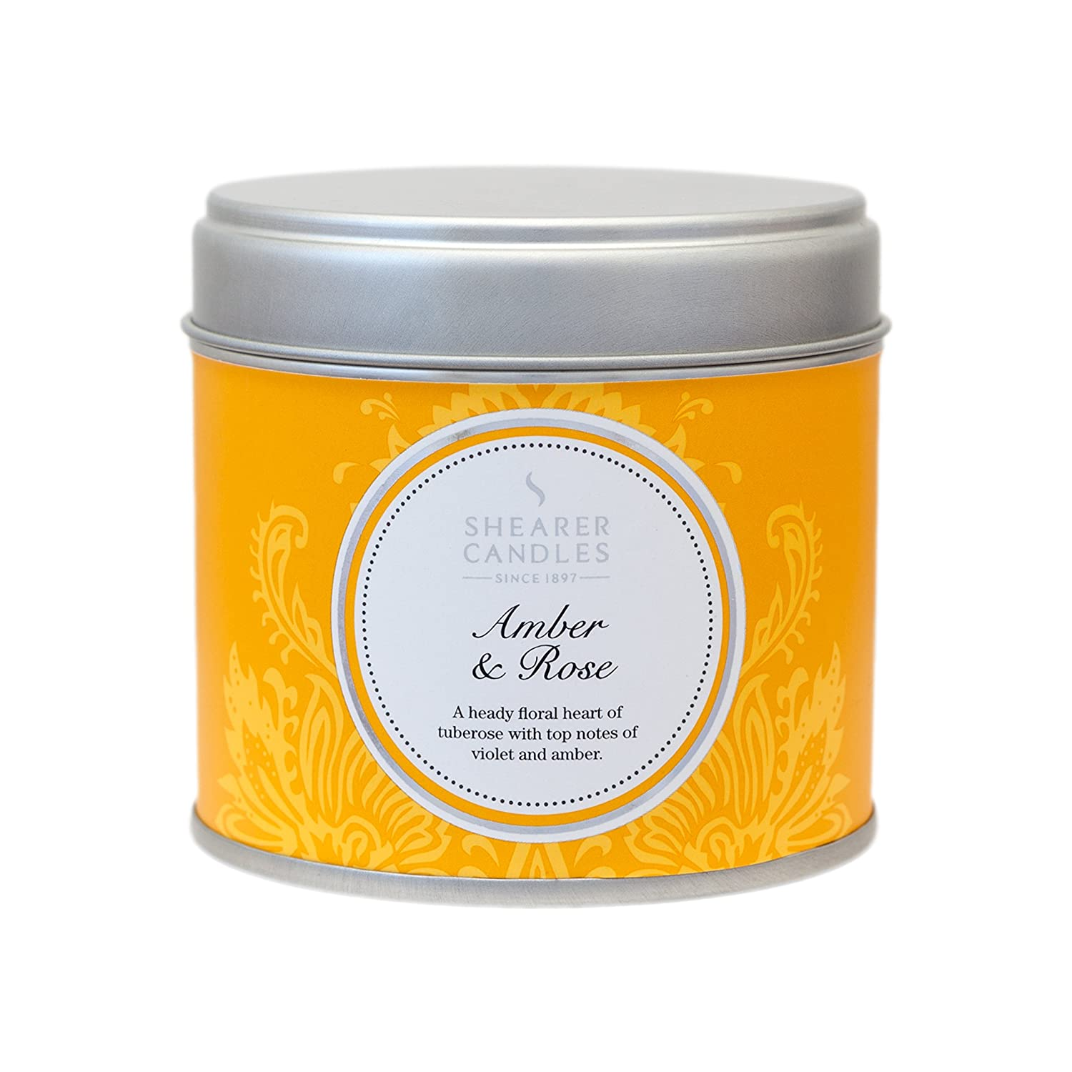 Shearer Candles Frankincense and Myrrh Large Scented Gold Tin ...