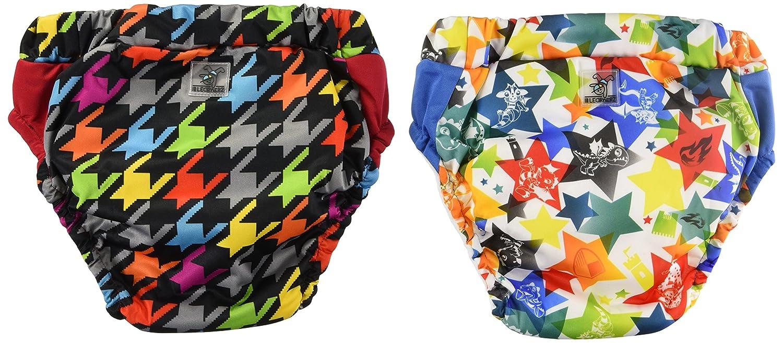 Kanga Care Lil Learnerz Training Pants, Large, Dragons Fly & Invader KRLLNZ_LG-M401