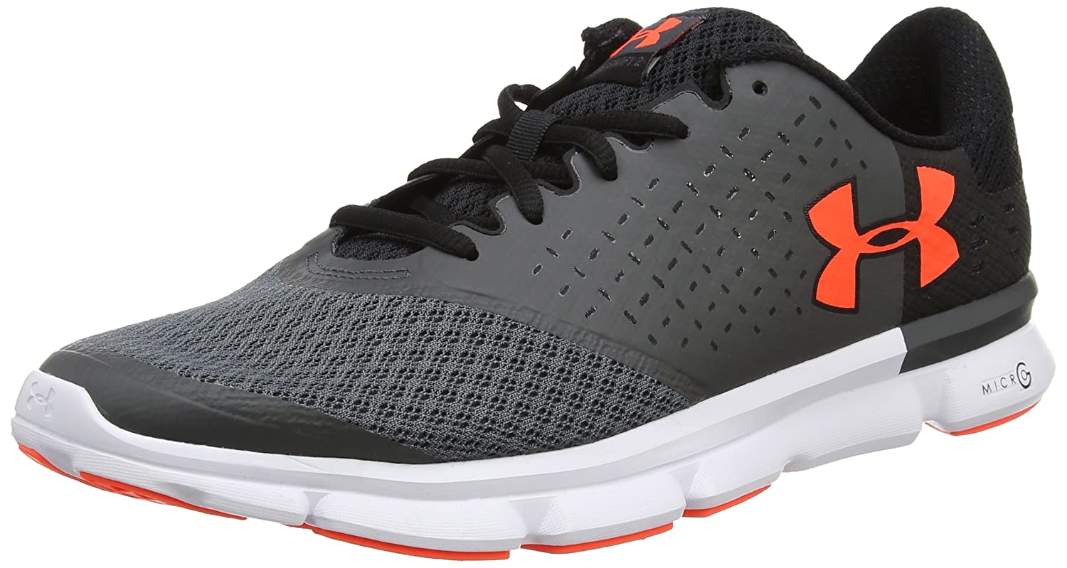 Under Armour UA Micro G Speed Swift 2, Zapatillas de Running Hombre 45 EU|Gris (Rhino Gray 078)