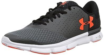 Under Armour UA Micro G Speed Swift 2, Chaussures de Running Homme, Noir (Black), 42.5 EU