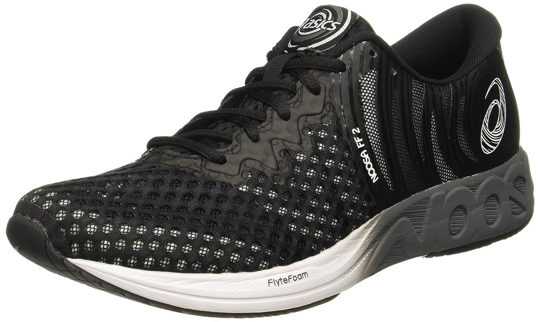 Asics Noosa FF 2, Zapatillas de Running para Hombre 49 EU|Negro (Black/White/Carbon 9001)