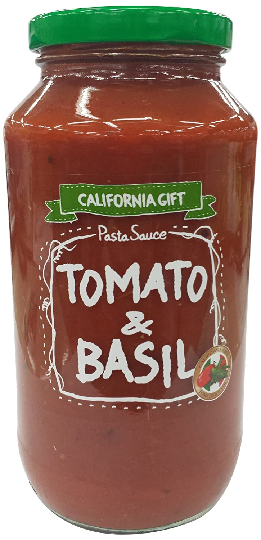 カリフォルニア・ギフト パスタソース・トマト&バジル