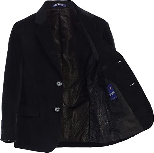 Gioberti Kids and Boys Formal Velvet Blazer