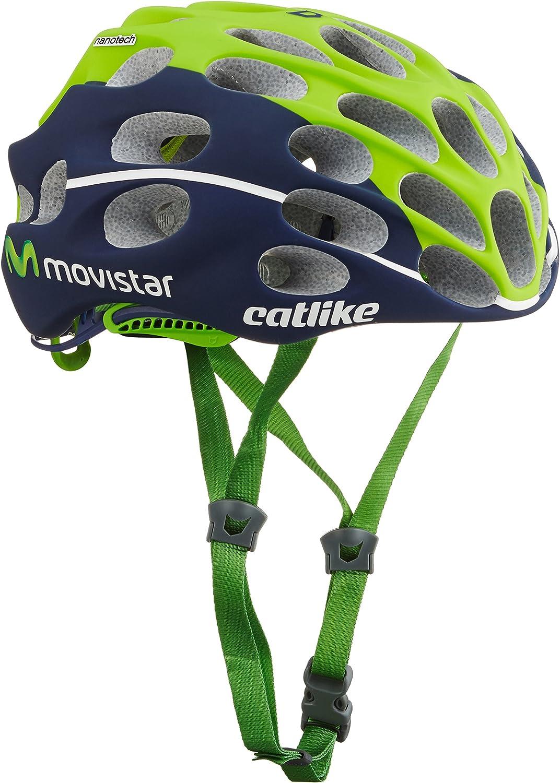 Catlike Mixino Casco de Bicicleta Movistar Talla S: Amazon.es ...