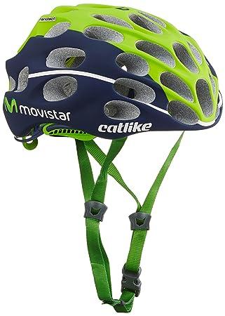 Catlike Mixino Casco de Bicicleta Movistar Talla S