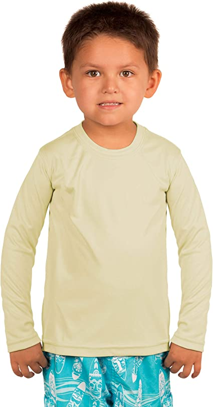 Royal Avalon UPF 50 Toddler Kids UV Sun Protection Long Sleeve Super Soft Quick Dry Outdoor Sports Recreation Shirts