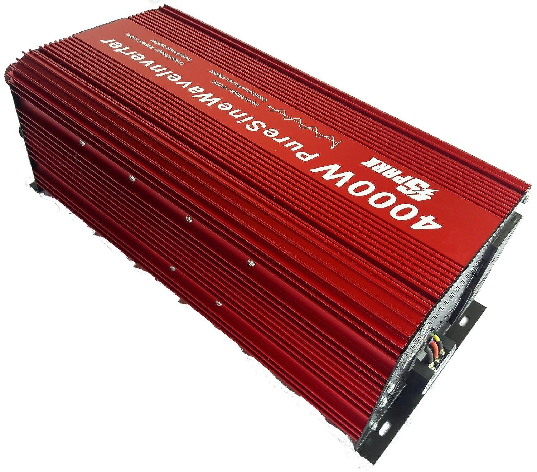 Spark 4000 Watt Pure Sine Wave Power Inverter 12v 8000w Peak Amazon 12vdc To 230vac 60w Circuit Car Motorbike