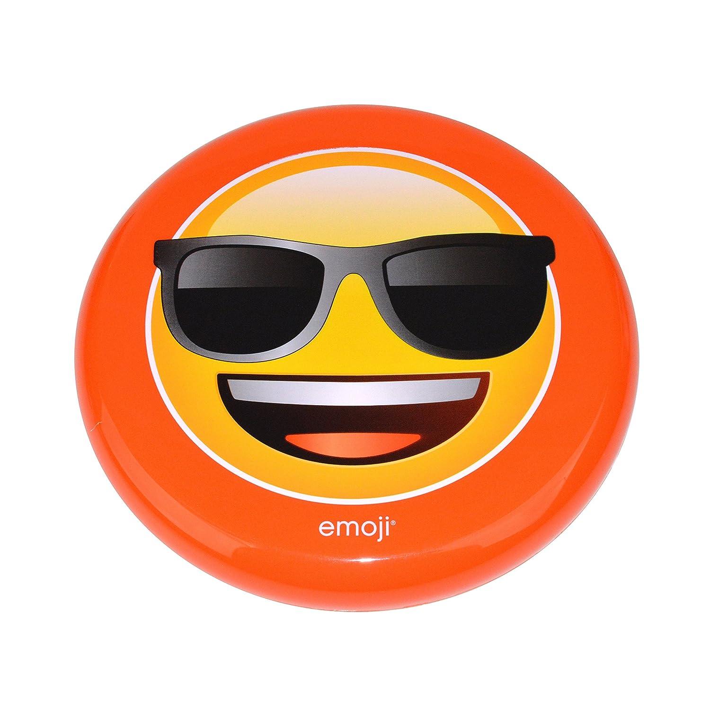 Emoji Unisex-Sonnenbrille, Scheibe, gelb