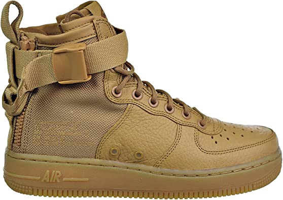 Nike Womens SF AF1 Mid High Top Lace Up Sneakers
