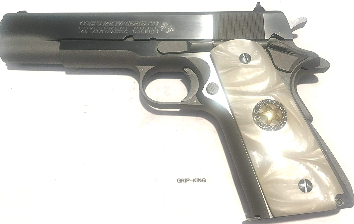 1911 GRIPS,FITS COLT,RUGER,KIMBER,SIG,SPRINGFIELD,REMINGTON S & W,WILSON,ITHACA,ACE FULL SIZE