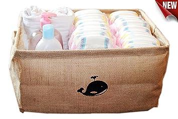 Jute Storage Container/Storage Baskets/Toy Box/Toy Storage/Toy Organizer/