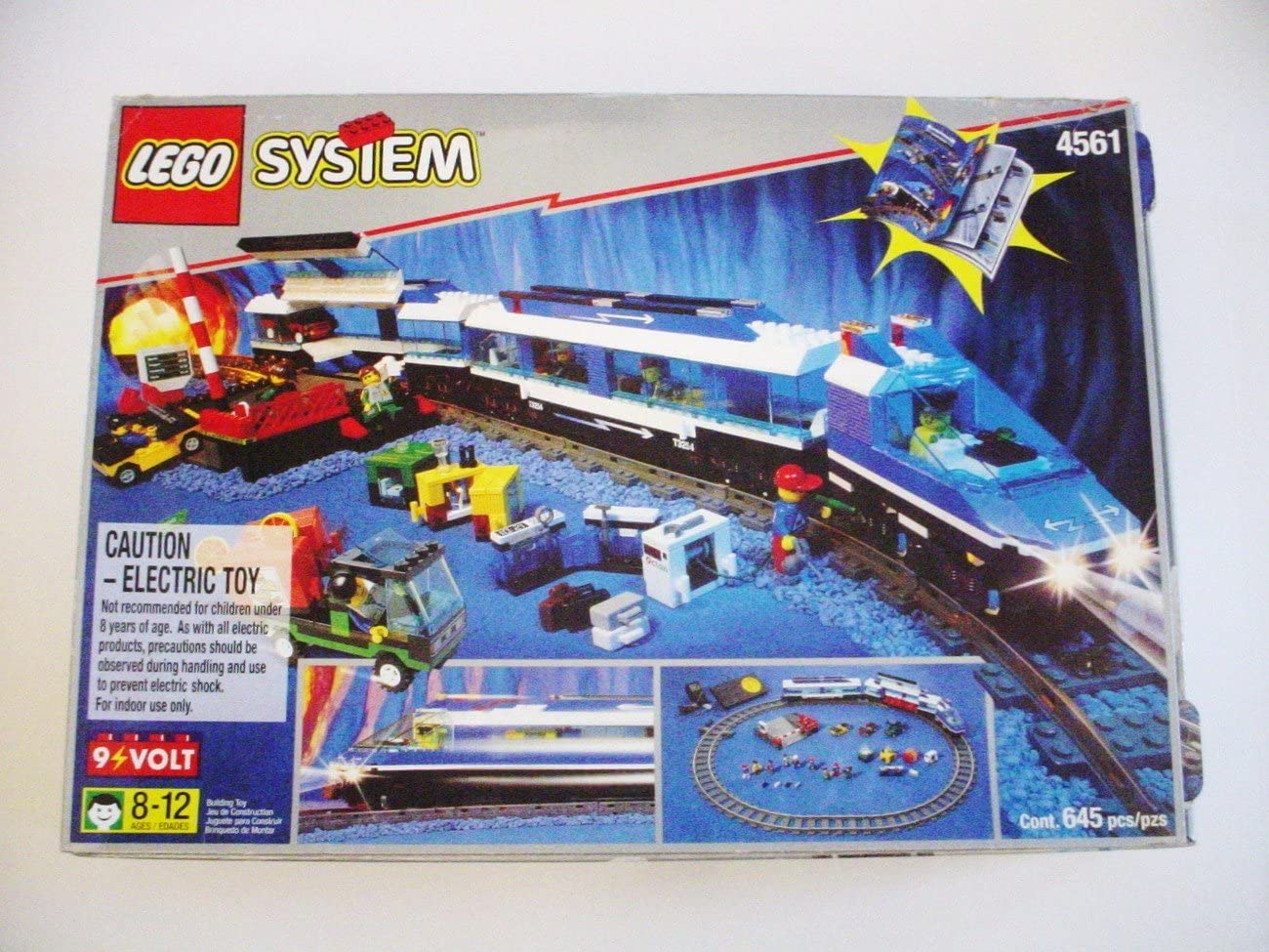 VERY RARE: Lego Railway Express Train Set w/ Transformer