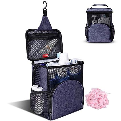 Amazon.com: KUSOOFA Travel Shower Caddy, Handy Shower Bag,Bath ...