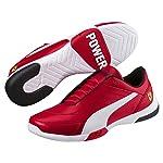 Puma 306219 01 Zapatillas de deporte Unisex Adulto, Rosso Corsa/White, 25.5