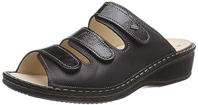 b0077a444b7e04 Finn Comfort Damen Pisa Pantoletten  Amazon.de  Schuhe   Handtaschen