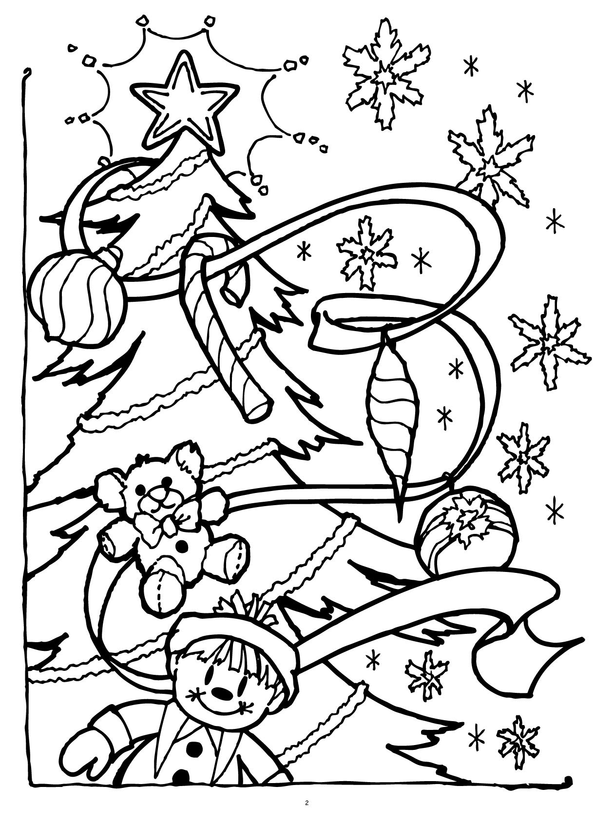 Twas the Night Before Christmas Really Big Coloring Book 18 x 18 ...