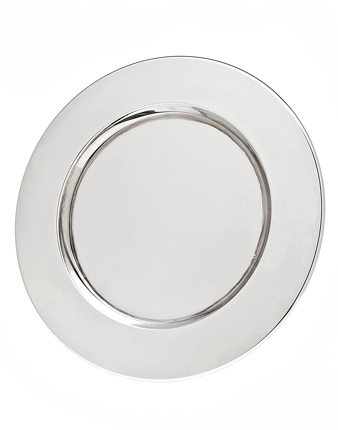 Christmas Tablescape Décor - Godinger silver-plated charger plates - Set of 4