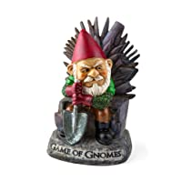 "BigMouth Inc Game Gnomes Garden Gnome – Comical Garden Gnome, Hand-Painted Weatherproof Ceramic Lawn Gnome, Makes a Great Gift, 9.5"" Tall"