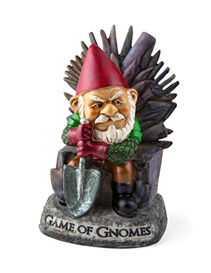 BigMouth Inc Game of Gnomes Nain de Jardin
