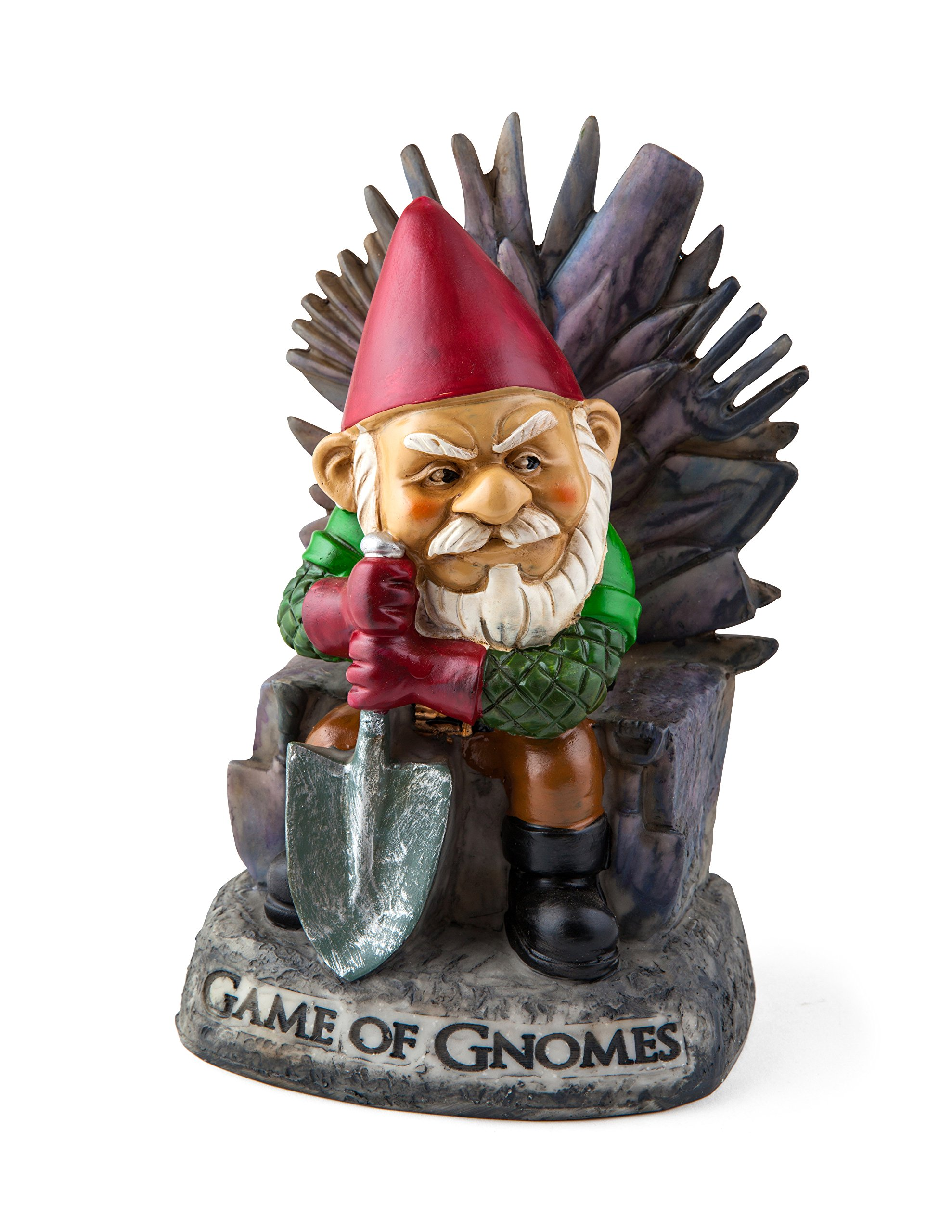 Big Mouth Toys Game of Gnomes Garden Gnome Statues