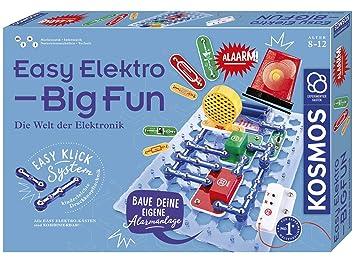 Kosmos Easy Elektro Big Fun Entdecke Die Welt Der Elektronik Radio Bauen Mit Lautsprecher Und Mikrofon Töne Erzeugen Schaltungen Per Lichtsensor