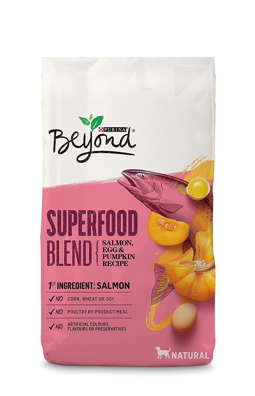 Beyond Superfood Salmon, Egg & Pumpkin Dog Food Nestle Purina Pet Care 055800329844