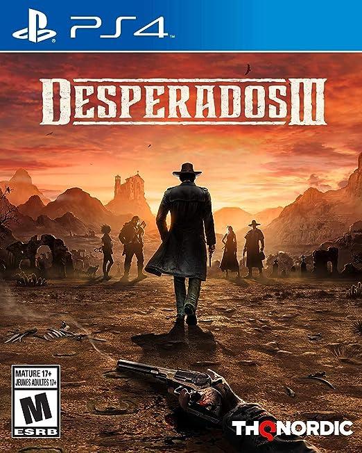 Amazon Com Desperados 3 Playstation 4 Thq Nordic Nordic Games Video Games