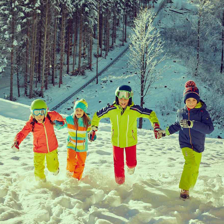 CMP Skihose Kinder M/ädchen und Jungen Winter Outdoorhose Schneehose Thermohose mit Fleece mit Tr/ägern warm wasserdicht Tjorven