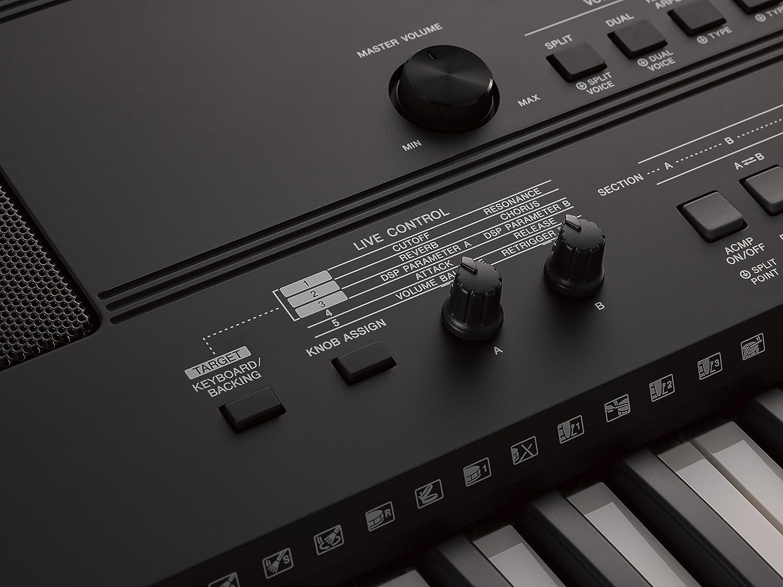 Yamaha PSR-EW410 - Teclado portátil, color negro: Amazon.es: Instrumentos musicales